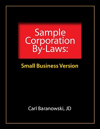 Sample Corporation ByLaws Stephen L Nelson CPA PLLC - Bylaws and articles of incorporation template