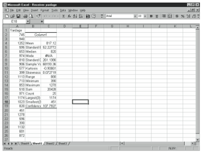 Figure 4-19. The Covariance dialog box.