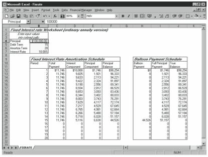 Using The Debt Amortization Starter Workbooks Stephen L